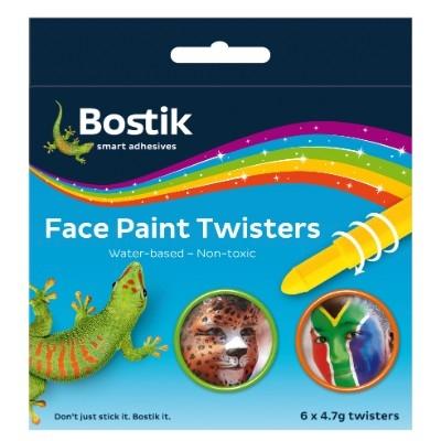 BOSTIK FACE PAINT 6X